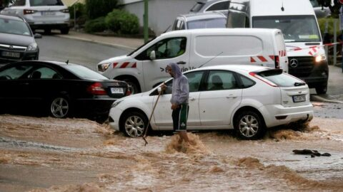 Ülkenin yarısı göle döndü! Almanya tarihinin 'en pahalı' yağmuru...