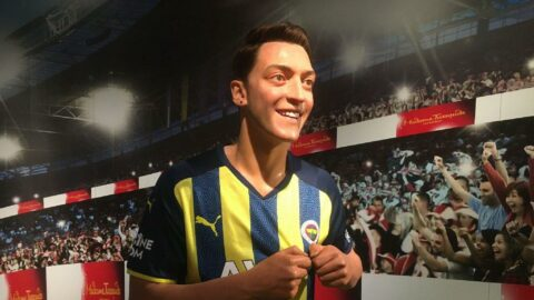 Mesut Özil'in balmumu figürü İstanbul'da