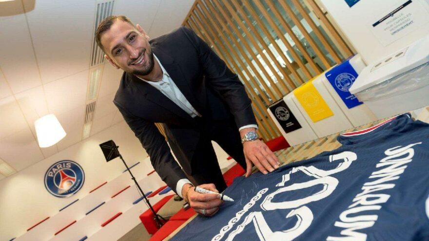 EURO 2020'nin en iyi oyuncusu Gianluigi Donnarumma resmen Paris Saint Germain'de!