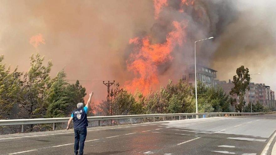 Bir günde 14 orman yangınıyla mücadele edildi