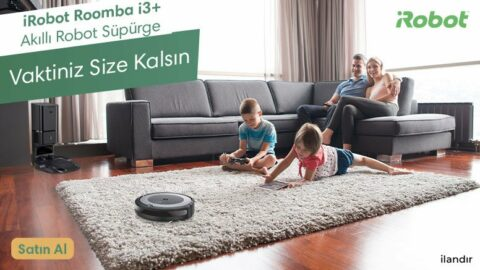 iRobot Roomba i3+ ile Tanışın