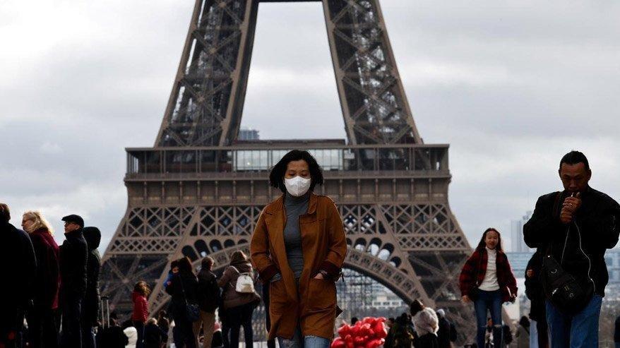 Fransa'da son 24 saatte 3 bin 617 yeni vaka