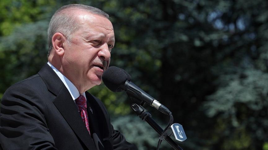 Erdoğan: O gece darbeciler karşımıza dikilselerdi şehadete yürümek için bir an bile tereddüt etmeyecektik - Son dakika haberleri