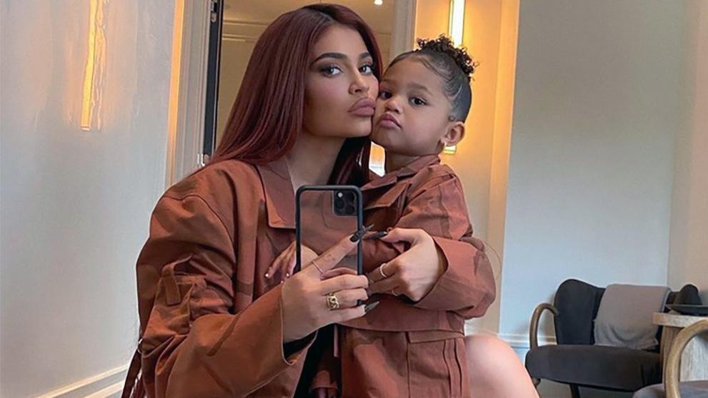 Kylie Jenner 3 yaşındaki kızı Stormi'ye özel marka çıkarıyor