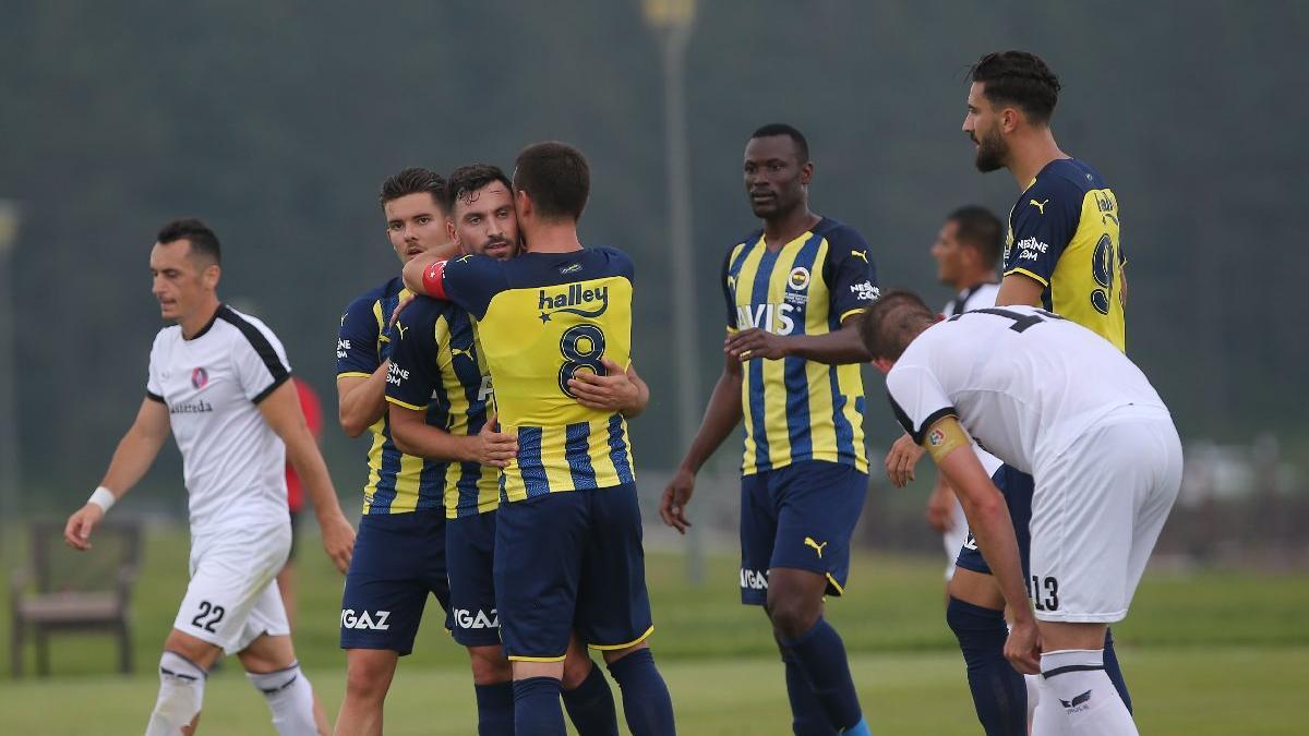 Fenerbahçe ilk hazırlık maçına çıktı