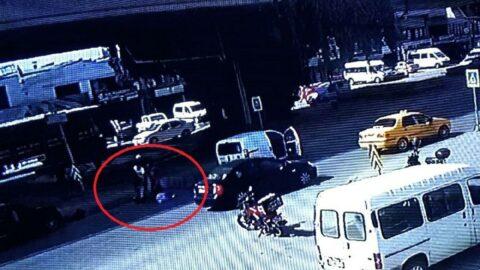 Kaza yapan yaşlı adama şok üstüne şok yaşadı
