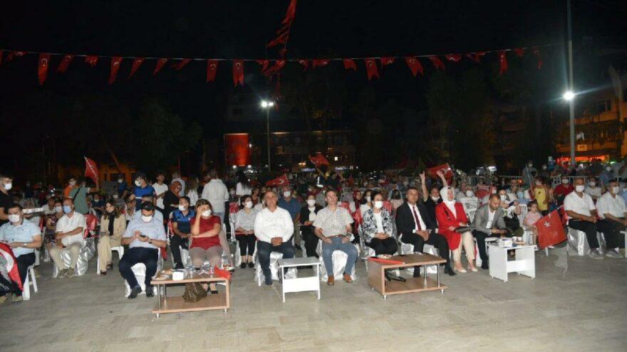 15 Temmuz etkinliğinde İzmir Marşı krizi
