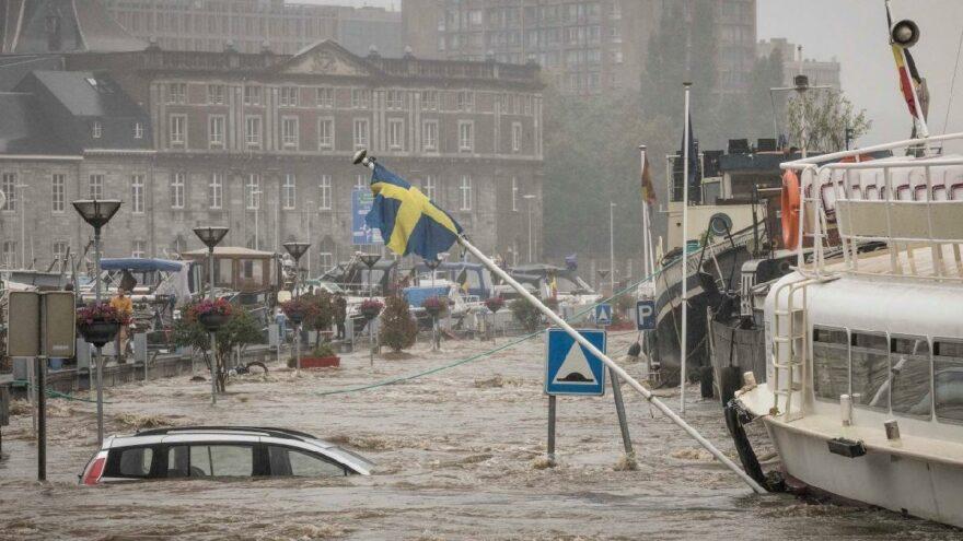 Avrupa selle mücadele ediyor: Ülkeler sulara gömüldü
