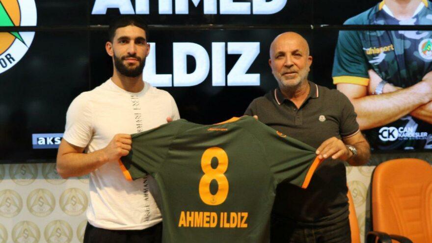 Aytemiz Alanyaspor'da Ahmed Ildız imzaladı