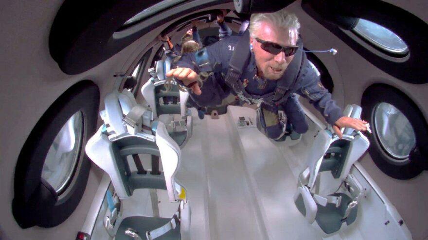 The Simpsons yine bildi… Branson'ın uzaya çıkışını 7 yıl önce gösterdiler