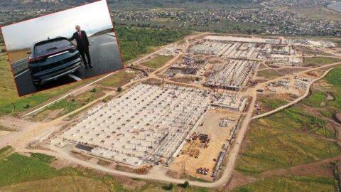 Yerli otomobil fabrikası fay hattına 500 metre mesafede