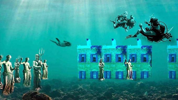 Bodrum su altında
