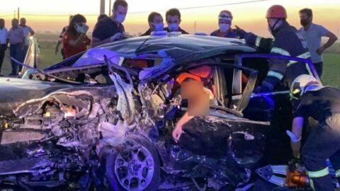 Düğün konvoyunda zincirleme kaza: 2 ölü, 3'ü ağır 6 yaralı