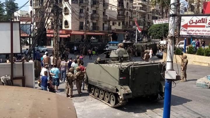 Lübnan'da gerilim tırmanıyor! Çok sayıda yaralı…