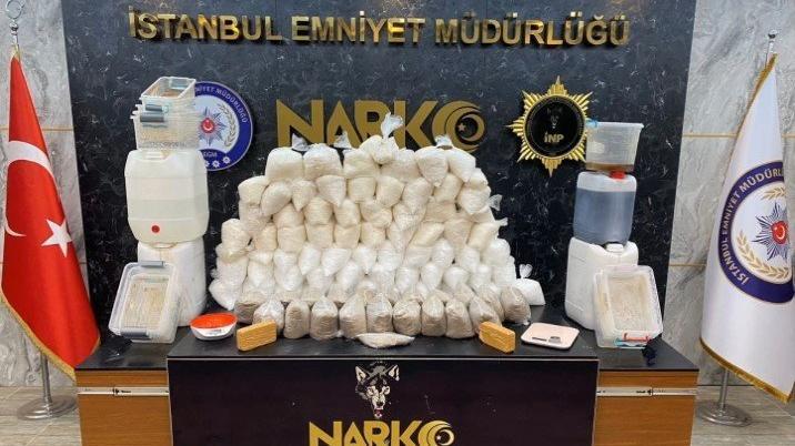 İstanbul'da 189 kilo uyuşturucu yakalandı