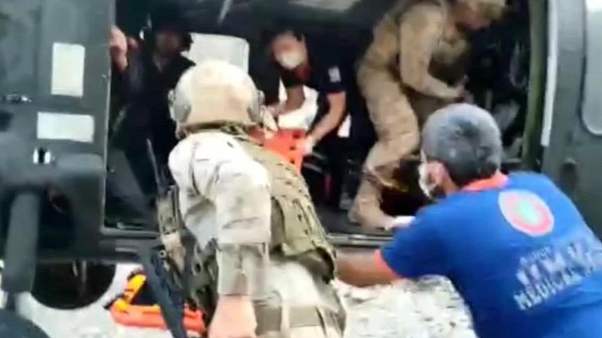 Çinli turist ayı saldırısına uğradı, vücudunda derin kesikler var