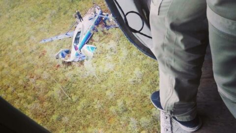 Radardan kaybolan uçağın görüntüleri ortaya çıktı