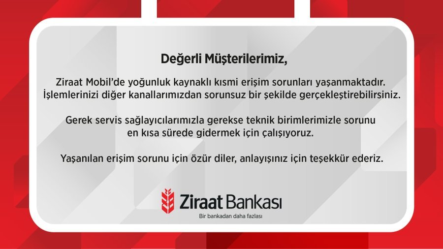 Ziraat Bankası Mobil Uygulaması Çöktü mü ? | TeknoUpdates