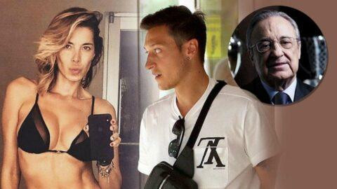 Florentino Perez'in Mesut Özil'in eski ilişkisine dair şok ses kayıtları