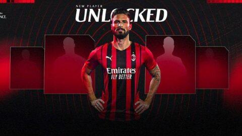Milan Olivier Giroud transferini resmen açıkladı
