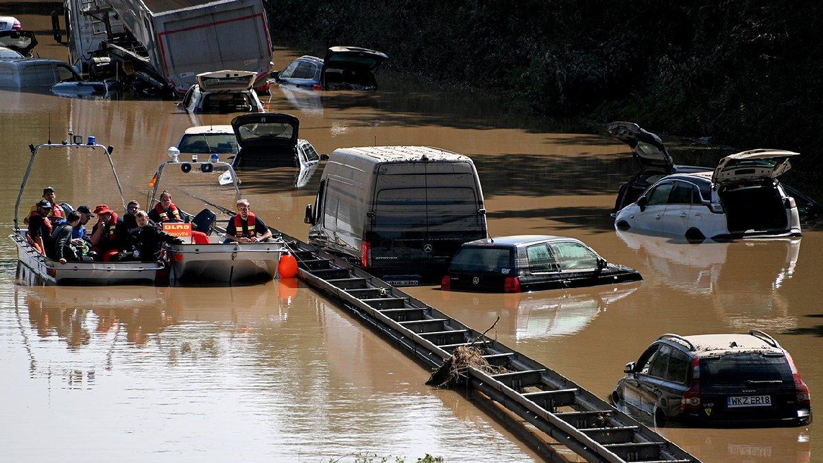Almanya'daki sel felaketinde can kaybı artıyor
