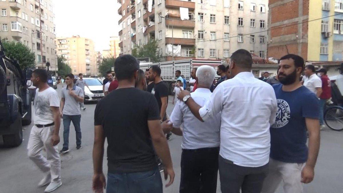 Diyarbakır'da ortalık karıştı! Yaralılar var