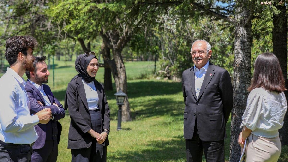 Kemal Kılıçdaroğlu gençlerle buluştu
