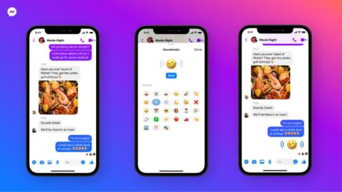 Facebook Messenger, emojileri seslendiriyor