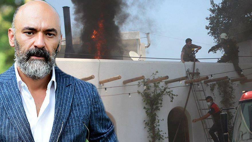 Oyuncu Kaan Çakır'ın restoranında yangın
