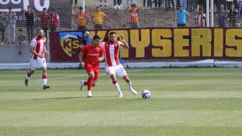 Samsunspor Kayserispor'u Yasin Öztekin ile yıktı