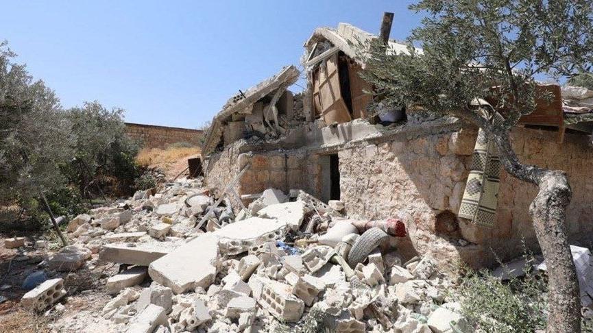 MSB: Rejim bölgesinden İdlib'e yapılan saldırıda 4 sivil hayatını kaybetti