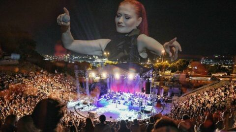 Bodrum Antik Tiyatro'da Candan Erçetin rüzgarı