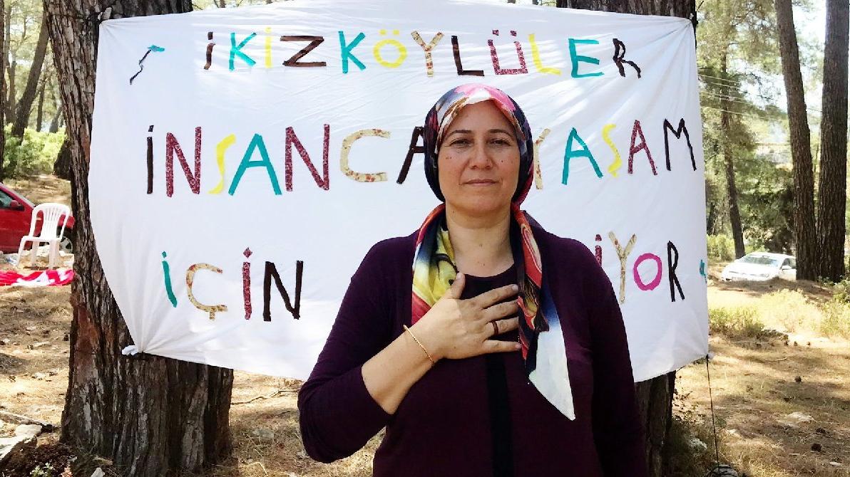 İkizköy'de İkizdere rüzgarı: Her ağacı tek tek savunacağız