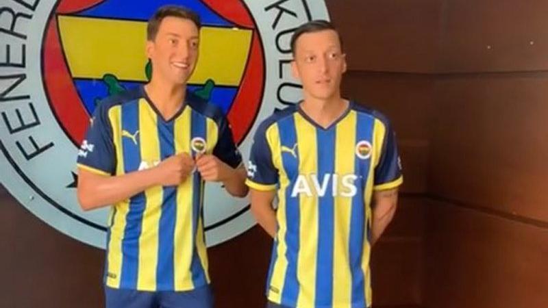 Mesut Özil'in heykeli Türkiye'ye geldi
