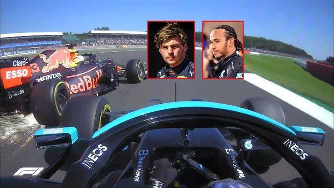 Formula 1'de Hamilton ve Verstappen'den korkutan kaza!