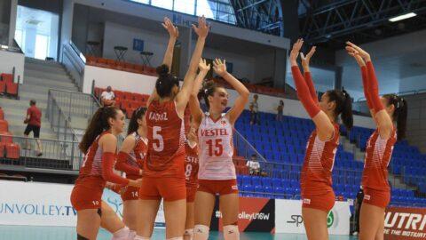 U16 Kız Voleybol Milli Takımı, Avrupa dördüncüsü