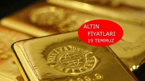 Altın fiyatları bugün ne kadar? Gram altın, çeyrek altın kaç TL? 19 Temmuz 2021