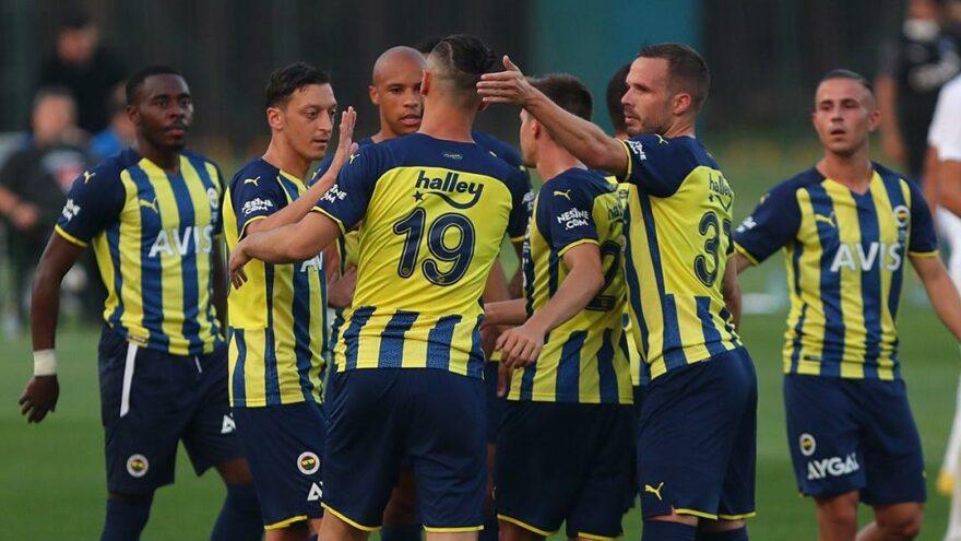 Fenerbahçe hazırlık maçında Kasımpaşa'ya gol yağdırdı: 4-1
