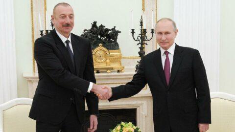Putin ve Aliyev, Moskova'da görüşecek