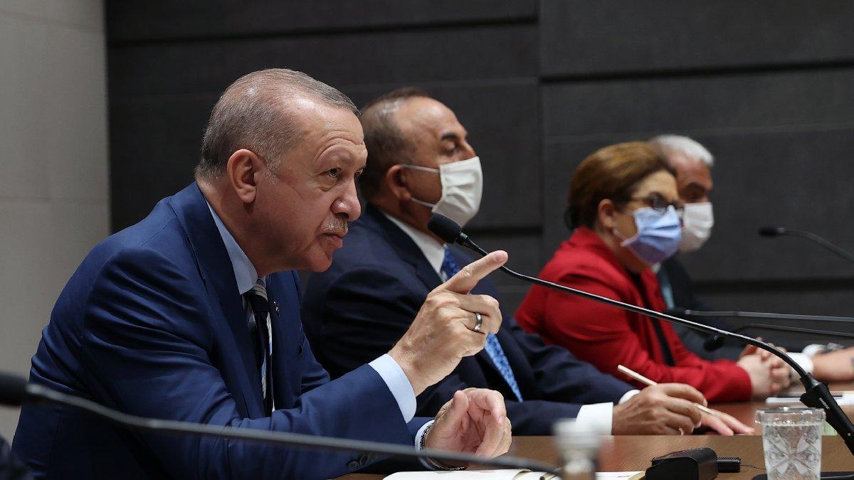 Erdoğan'dan Delta varyantı değerlendirmesi: Bu bizim için bir tehdittir