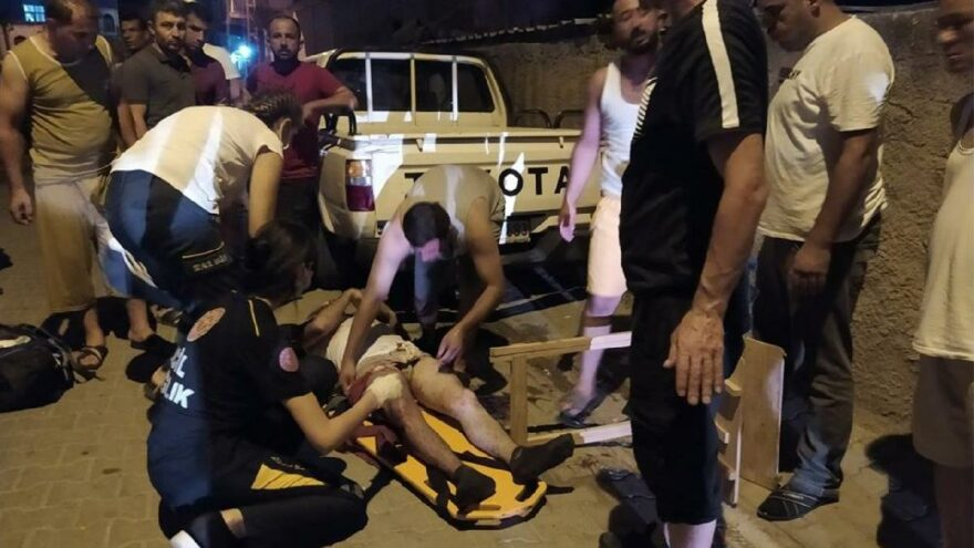 Adana'da kanlı gece! Pompalıyla dehşet saçtı