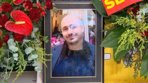 Bakırköy eski Belediye Başkanı Erzen'in oğlu Cem Ünal Erzen, son yolculuğuna uğurlandı