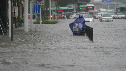 Çin'i sel vurdu: 12 kişi öldü, binlerce kişi tahliye edildi