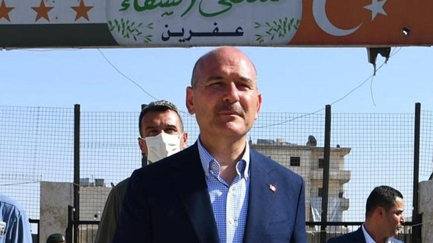 Süleyman Soylu, Afrin'e gitti