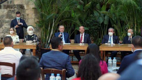 Erdoğan: Bu zalim Yunanlıların elinden kurtarılmış oldu