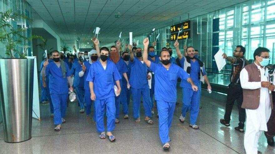Suudi Arabistan 62 mahkumu iade etti