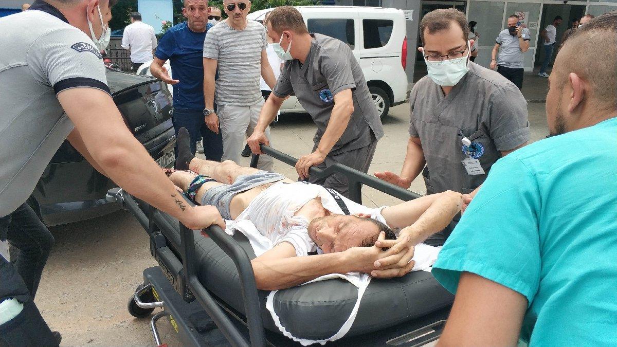 Kurban kesenlere silahlı saldırı: 2 yaralı