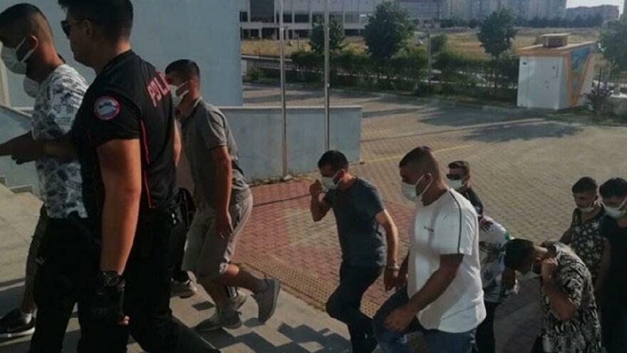 Saldırı öncesi polisten baskın! 12 gözaltı