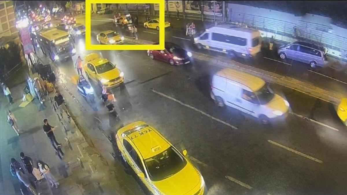 Turistleri soyan taksici böyle yakalandı