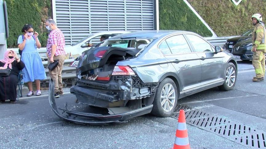 Fatih'te zincirleme trafik kazası